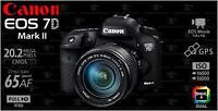 (Like new) Canon 7D mark II