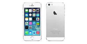 IPHONE 5S 16GB SILVER-LOCKED TO ROGERS