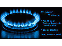 **£30** COOKER INSTALL & SAFETY CERTIFICATE - oven Gas Safe corgi Registered Engineer Electric