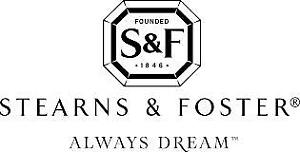 KING SIZE STEARNS AND FOSTER MATTRESSES