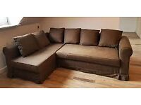 Ikea corner sofa/bed can deliver