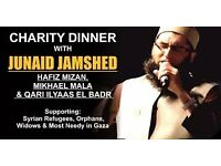 Charity Dinner with Junaid Jamshed - Manchester - London -Leicester
