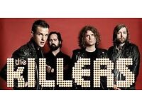 The Killers Tickets x3 Blk 108 row N London o2 Arena Mon 27th Nov £375