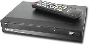 Apex DT502 Digital TV Converter Box,remote incl.514-996-9207