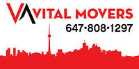 Vital Movers - reliable moving and delivery services 6478081297