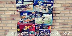 Star Wars boxed collectables