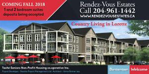 Rendez-Vous Estates 55 plus - Lorette (15 minutes east of the Mi
