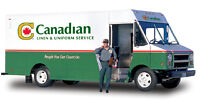 Customer Service Rep / Route Driver - Canadian Linen