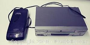 VHS Player and Rewinder
