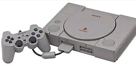 Original playstation 1 console good condition dual shock 1 controller
