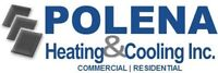 Polena Heating & Cooling Inc. - Furnaces from $1,895