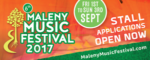 MALENY MUSIC FESTIVAL - 3 DAY YOUTH TICKET (13-17YRS)  W/CAMPING Maleny Caloundra Area Preview