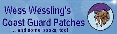 Coast Guard Patches and Books