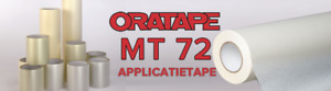 "14"" X 300 FT ORATAPE MT72 SEMI-TRANSPARENT APPLICATION TAPE"
