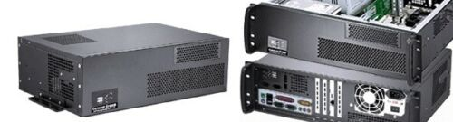 """3U (Short 11.81"""")(Wall-Rack Mount Chassis)(5.25""""+3xHDDs Bay)( ATX/ITX ) Case NEW"""