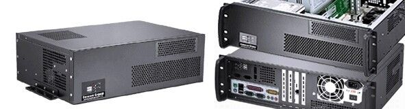 "3U (Short 11.81"")(Wall-Rack Mount Chassis)(5.25""+3xHDDs Bay)(ATX / ITX) Case NEW"