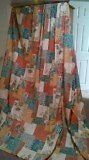 Handmade Large Curtains, Mixed Colours