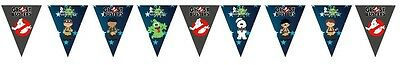 1x Ghostbusters Banner Bunting Flag. Party Supplies Lolly Loot Bag Room Deco