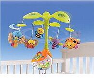 Baby boy/girl cot mobile & light toys