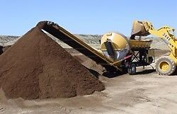 Topsoil delivery sale , fast service