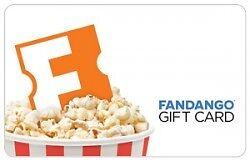 3.30 Fandango Gift Card - $2.50