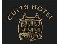 CULTS HOTEL SEEKING KITCHEN PORTER ASAP