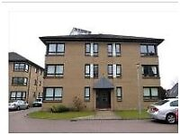 Unfurnished two bedroom corner flat to let on the ground floor of a modern development Scotstounhill