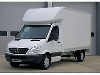 Mercedes box van/luton with driver...Ireland and mainland England deliveries...