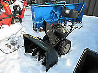 yardworks 10hp snowblower. works great...electric start and lig
