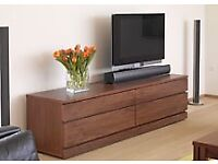 Quality TV unit , manufactured by Skovby,