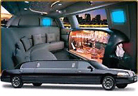 Black limousine service stretch limo for all occasions & Events