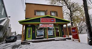 Duplex semi-commercial (Montréal, Pointe-aux-Trembles)