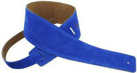 ★✪ Perris Leathers Blue Suede Guitar Strap ✪★