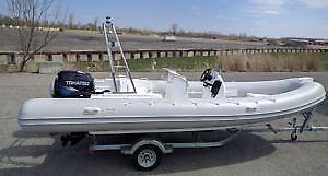 combo bateau 580 avec moteur 75hp