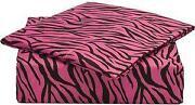 Pink Zebra Bedding