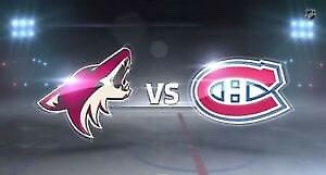 2 billets hockey