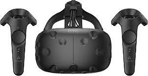 Htc vive headset and Advanced audio strap