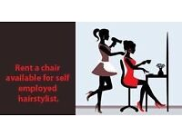 WANTED HAIRDRESSER - RENT A CHAIR - BE YOUR OWN BOSS