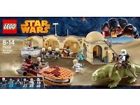 Retired Lego Star Wars Mos eisly cantina set 75052 - New with all mini figures