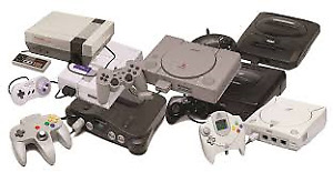 Vintage and Modern Video Games or Consoles