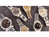 Luxury Watches WANTED - Rolex, Cartier, Hublot, Audemars Piguet & Others