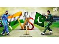 India v Pakistan - Champions Trophy Tickets - 4x SOLD, 2 x REMAINING