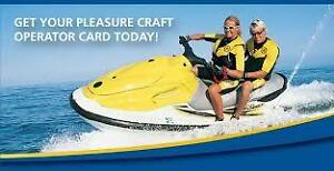 Pleasure Craft Operator Card Course & (PCOC) Exam