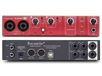 Focusrite 8i6 USB Audio Interface
