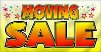 MOVING SALE - FRI 07 AUG & SAT 08 AUG 9:00 AM to 3:00 PM