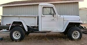 Wanted- 1950's Willy Pickup