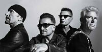 U2 Hard Copy Tickets @ ACC July 6th & July 7th Asking Below Face