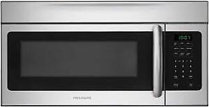 New Frigidaire Stainless Steel Over-The-Range Microwave w/Vents
