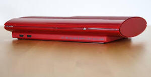 PS3 Super Slim 4001c 500 GB Limited Ed Red *UPDATED! Games*