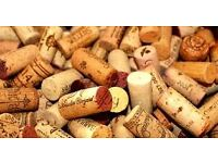 bag of used corks for wine-making, crafts etc